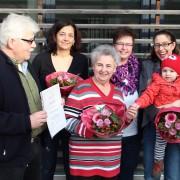 Unser 100. Mitglied – Frau Brunsch!
